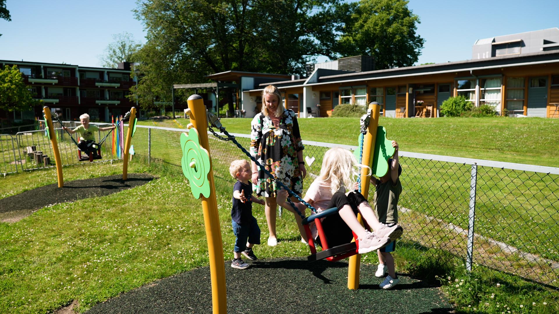 Melløsparken barnehage: – Trigonor ga uteområdet vårt et kjempeløft!